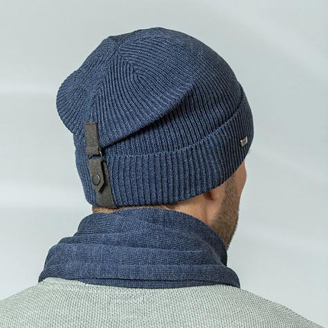 как загнуть шапку сзади фото перед